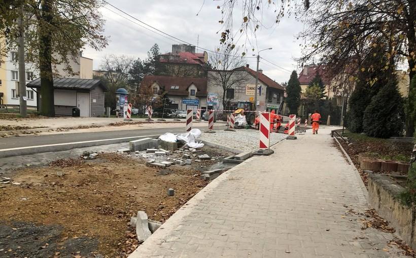 Remont ulicy Sienkiewicza w Wadowicach przedłużony? Plany pokrzyżowali archeolodzy