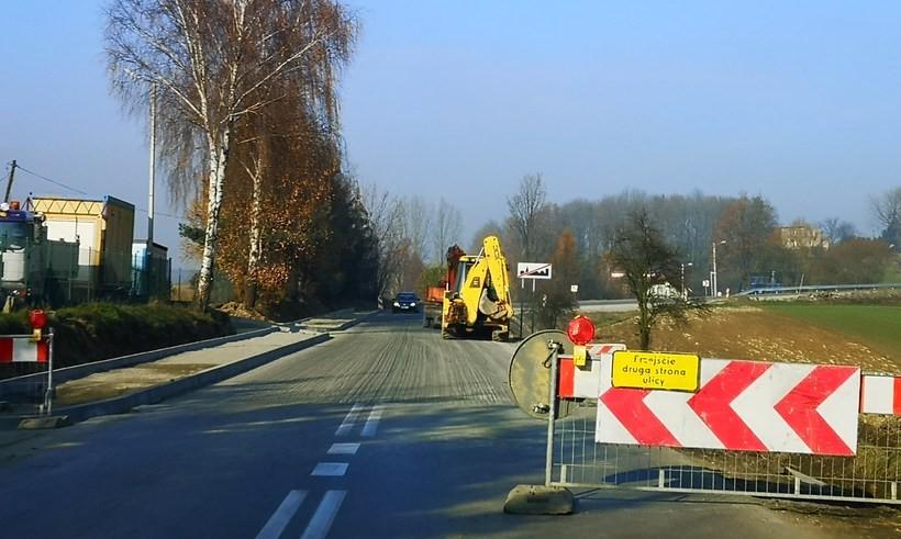 Droga w Witanowicach