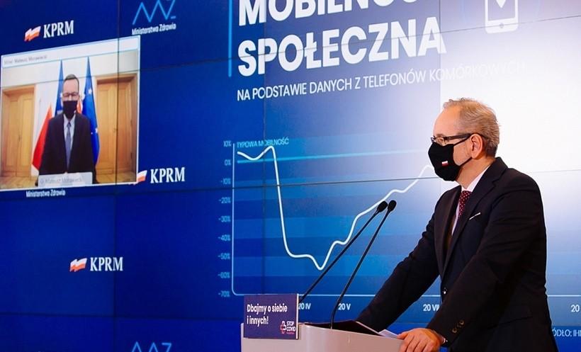 """Minister zdrowia: """"Trzecia fala w lutym, odporność na koronawirusa pod koniec wiosny lub na początku lata"""""""