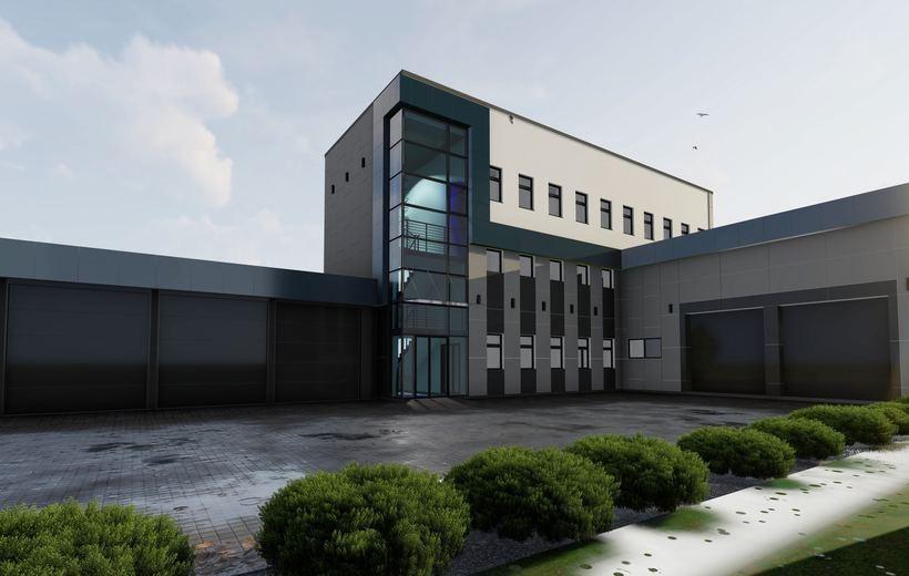 Tak bedzie wyglądała nowa siedziba pogotowia w Wadowicach