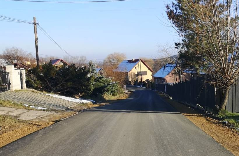 Droga w Gorzeniu Dolnym