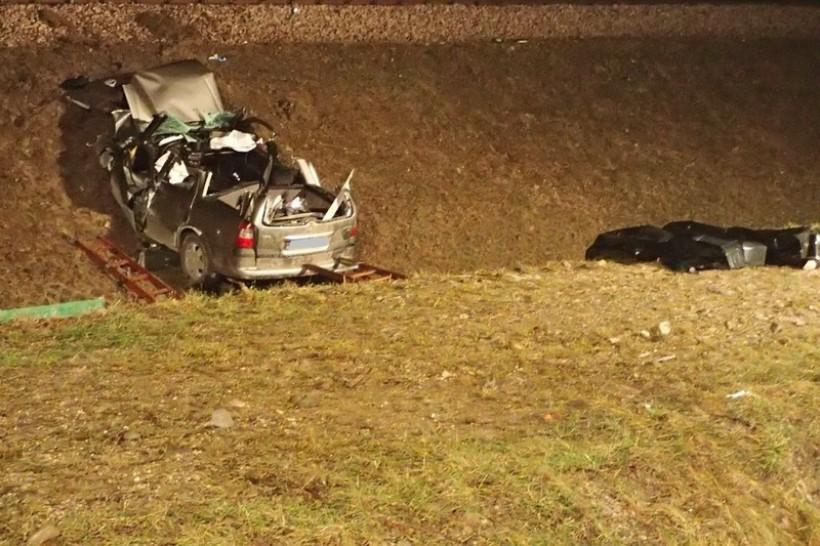 W wypadku w Zembrzycach zginęło dwóch młodych mężczyzn z powiatu wadowickiego