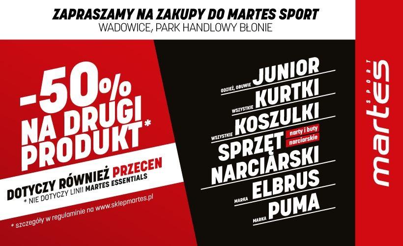 Martes Sport w Wadowicach zaprasza. Wielki wybór w super cenach