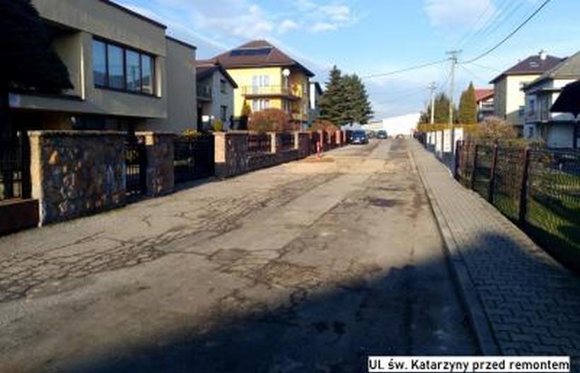 Łatana od lat ulica zostanie wyremontowana. Spytkowice wydadzą na to 138 tysięcy złotych