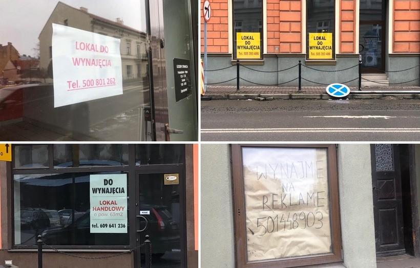 Smutne widoki z Wadowic, coraz więcej pustych lokali. Efekt koronawirusa, czy remontów ulic?