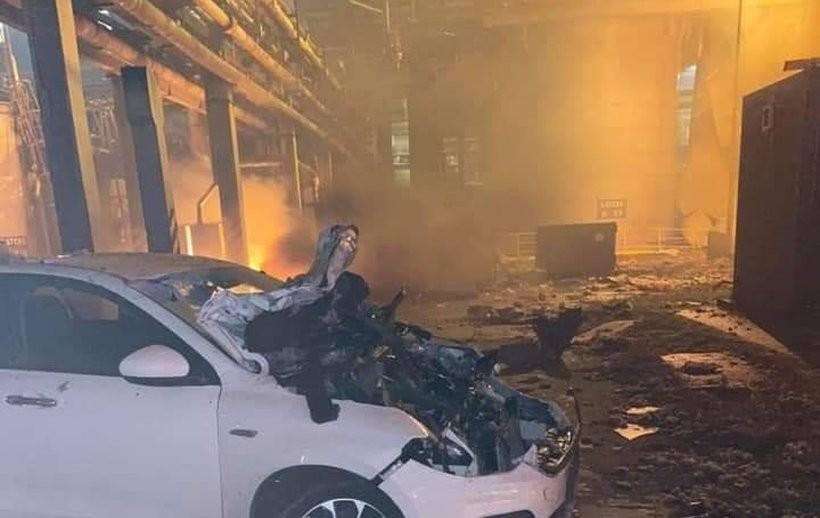 Strażacy z powiatu wadowickiego wysłani do Oświęcimia. Ogromny pożar zakładu