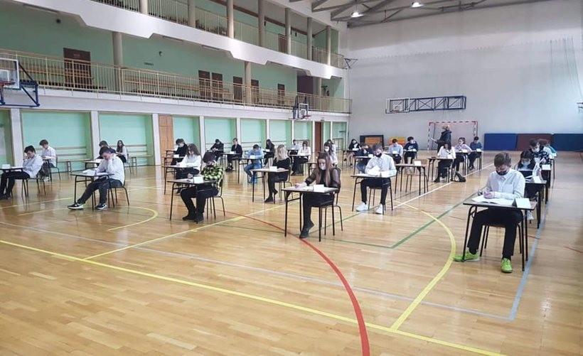 Egzaminy w Szkole Podstawowej nr 1 w Choczni