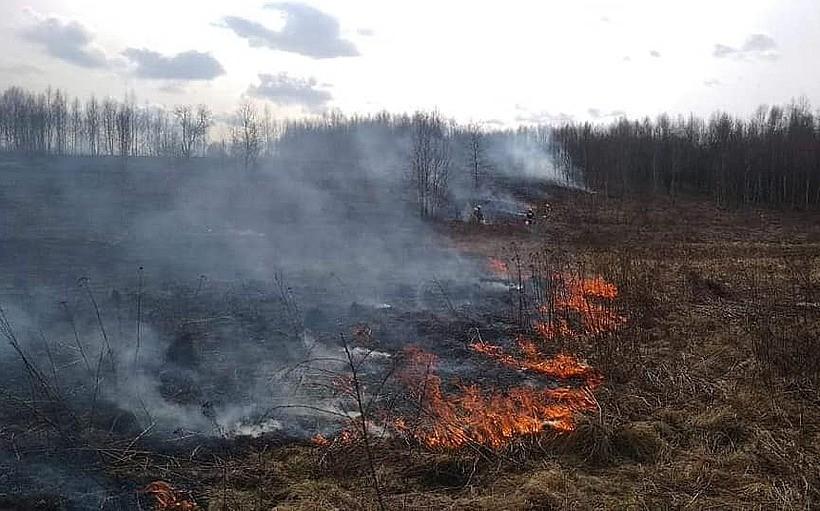 W niedzielę w Kossowej w okolicach torów doszło do pożaru nieużytków. Na miejscu działały jednostki OSP Łączany oraz OSP Chrząstowice i JRG Wadowice.
