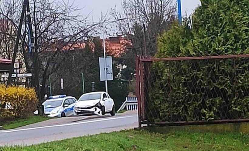 Zderzenie przy Zegadłowicza w Wadowicach