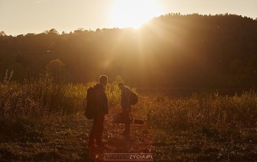 Kadr z poprzedniego projektu Z nurtem życia
