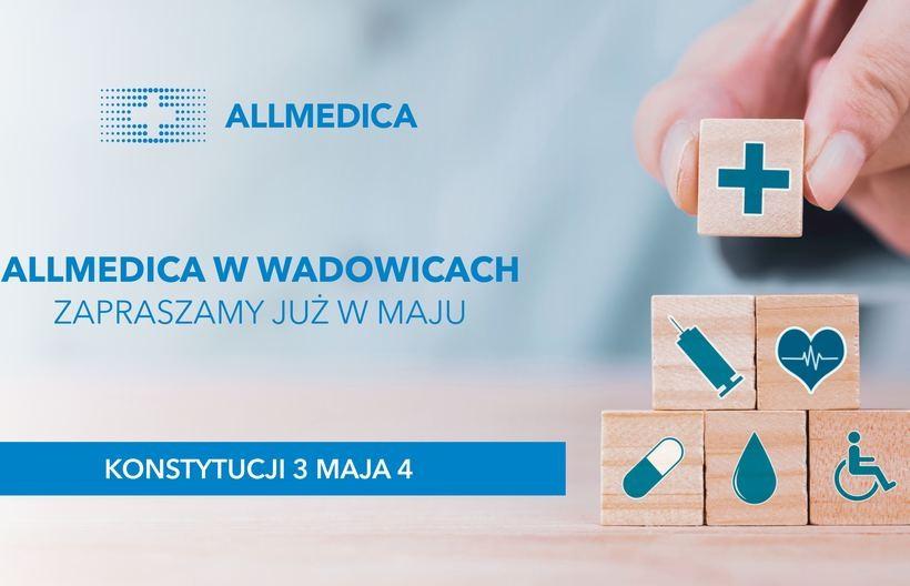 Nowa klinika medyczna w Wadowicach! Wielkie otwarcie już w maju!