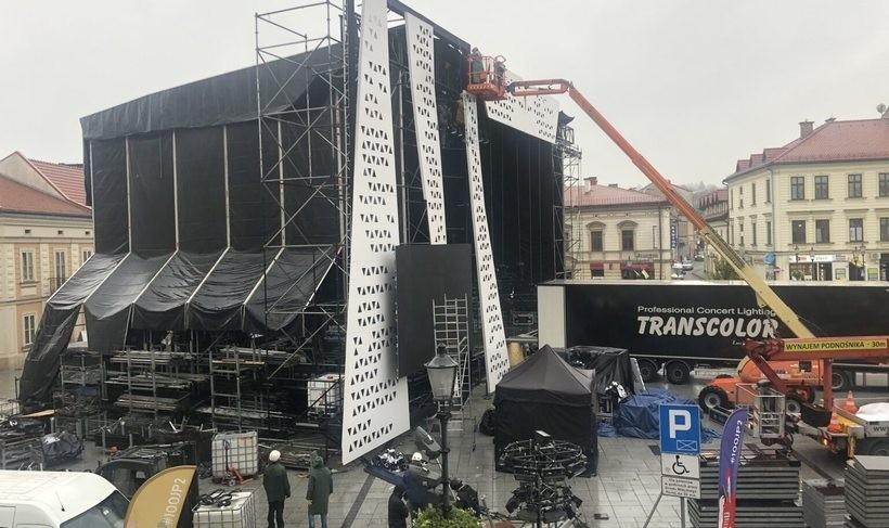 Tym razem nie będzie wielkiej sceny na rynku w Wadowicach