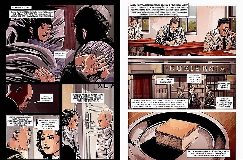 Pierwszy polski tak obszerny komiks o życiu Karola Wojtyły. Narysował go wadowiczanin