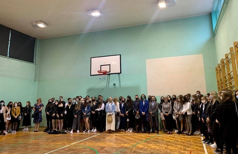 Mała sala gimnastyczna w liceum w Andrychowie zostannie zbużona, a w jej miejsce powstanie hala sportowa