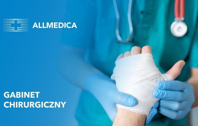 Chirurgia i chirurgia dziecięca w Allmedica w Wadowicach