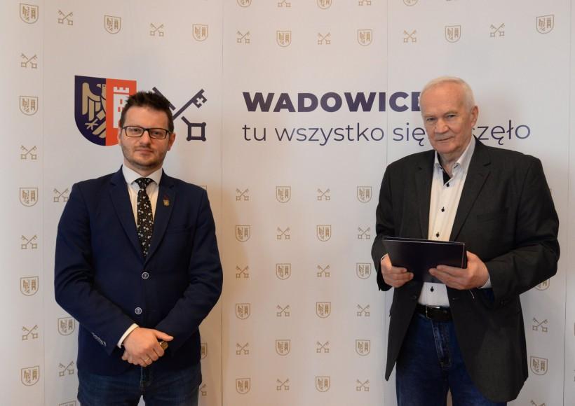 Bartosz Kaliński i Kazimierz Malczyk