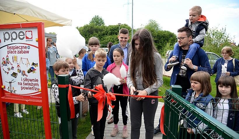 Nowe miejsce relaksu dla dzieci w Wadowicach. Mieszkańcy czekali na to latami