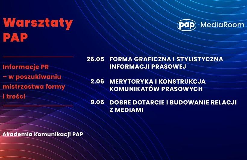 Warsztaty PAP: informacje PR – w poszukiwaniu mistrzostwa formy i treści