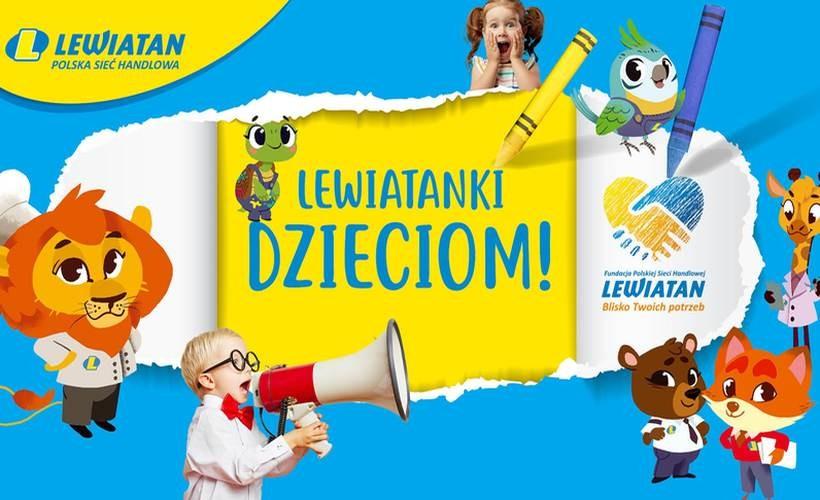"""Dzień Dziecka z """"Fundacją PSH Lewiatan. Blisko Twoich potrzeb"""""""