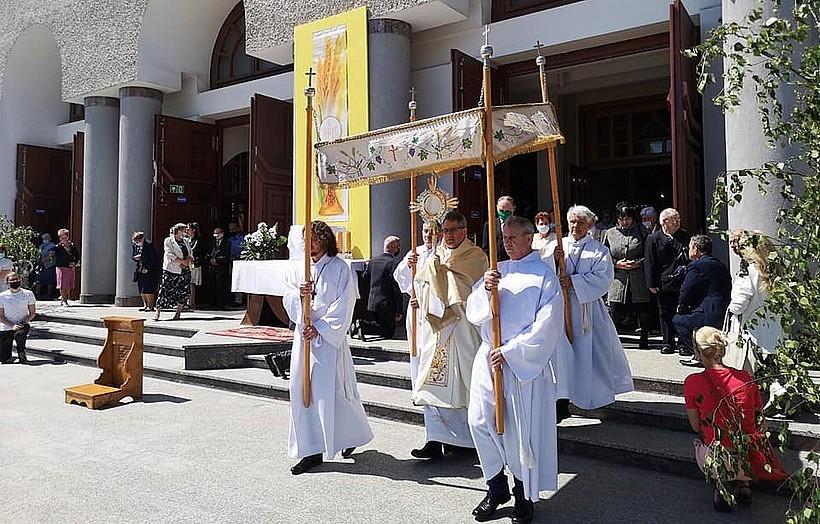 Wadowice bez procesji Bożego Ciała ulicami miasta. Co się stało?