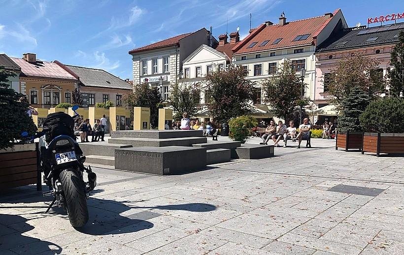 W końcu znowu ruch w Wadowicach. Ludzie wyszli na miasto, wrócili turyści