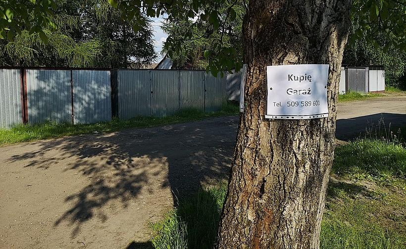Właściciele blaszaków w Wadowicach zostali na lodzie. Muszą się szybko wynieść