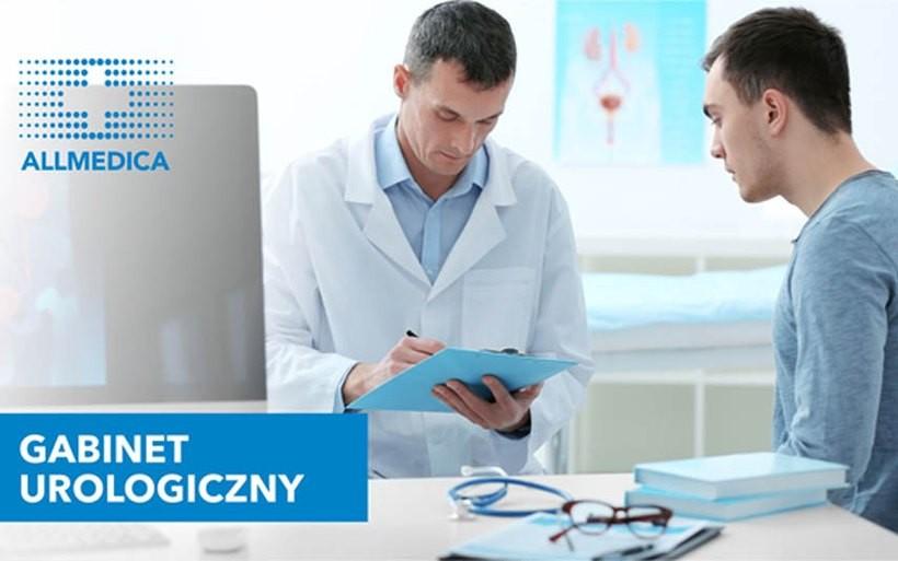 Gabinet urologiczny w Allmedica: kompleksowa diagnostyka i leczenie chorób układu moczowego