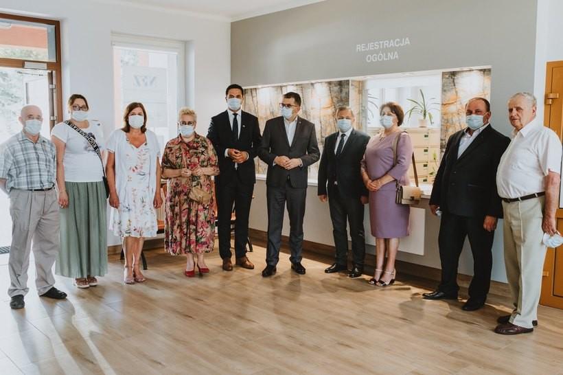 Stryszów wyremontował ośrodek zdrowia i poszerza zakres usług