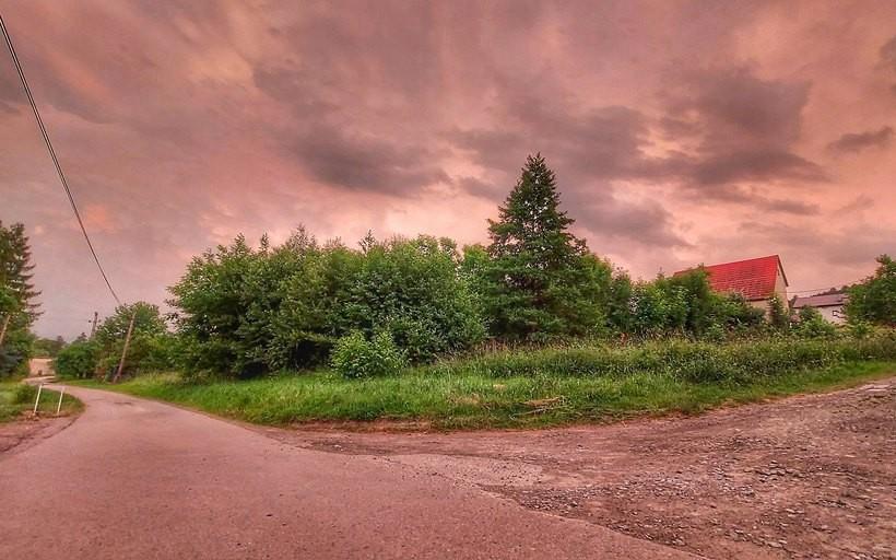 Niebo nad Małopolską po ostatnich burzach