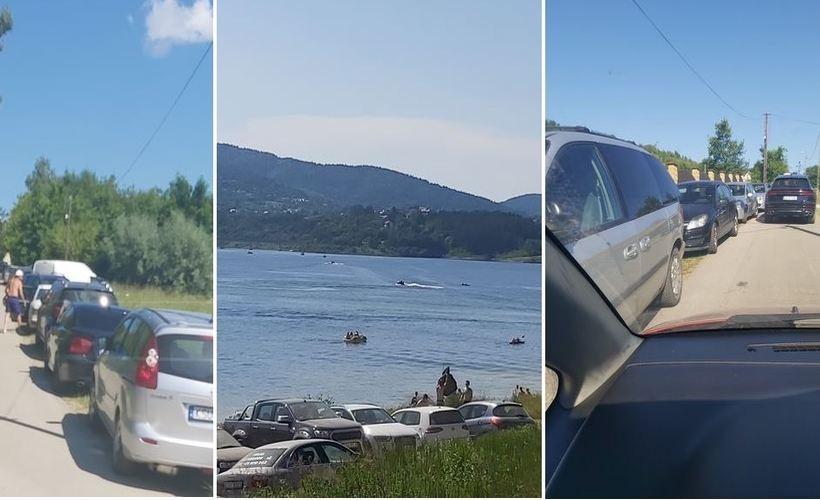 Wolna amerykanka nad Jeziorem Mucharskim. Mieszkańcy grożą blokadą krajówki jeśli...