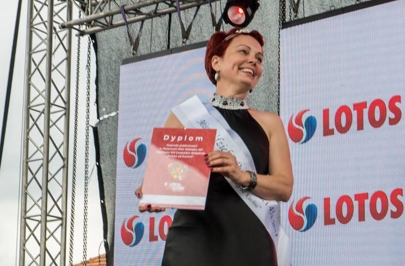 Pani Agata Leja z KGW w Barwałdzie Średnim