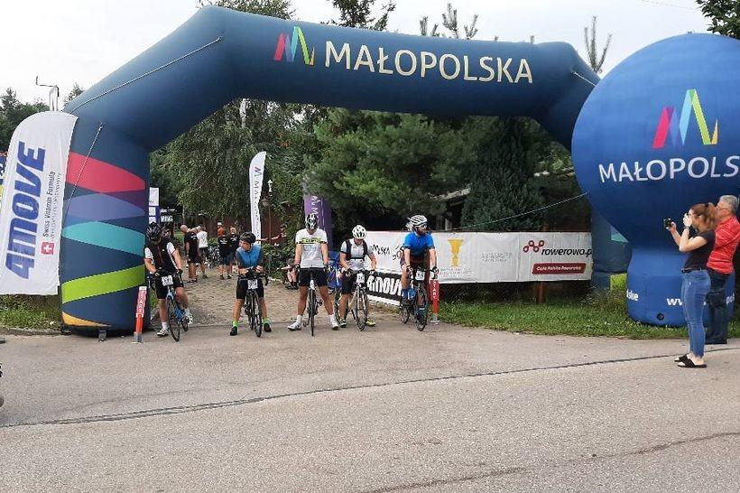 To jedna z najtrudniejszych tras rowerowych małopolskiego maratonu