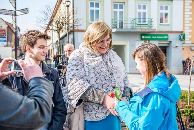 Anna Grodzka odwiedziła w marcu Wadowice