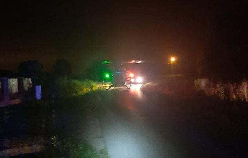 Na miejsce zadysponowano helikopter LPR