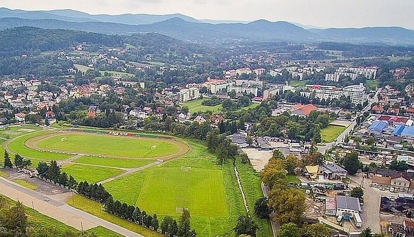 Obiekt powstanie na stadionie Skawy w miejscu, gdzie znajduje się obecnie boisko treningowe