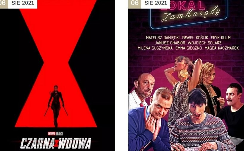 Światowy hit i polska komedia. Kino Centrum prezentuje repertuar na kolejne dni