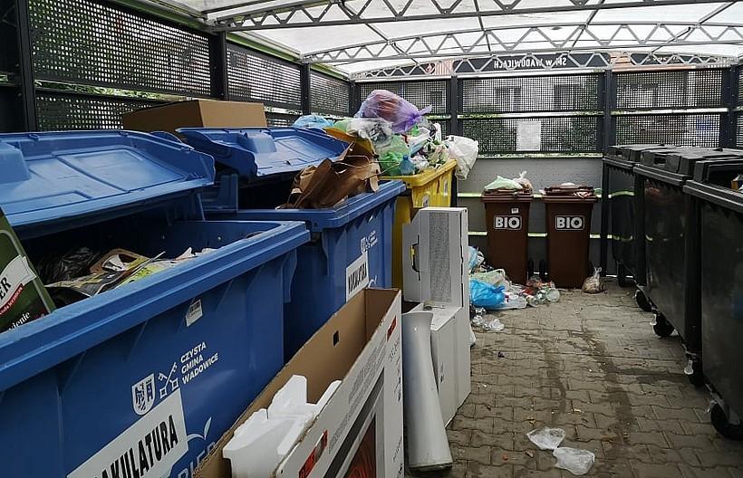 Śmieci z Wadowic nie pojadą na wysypisko w Choczni? Znów coś dziwnego się dzieje