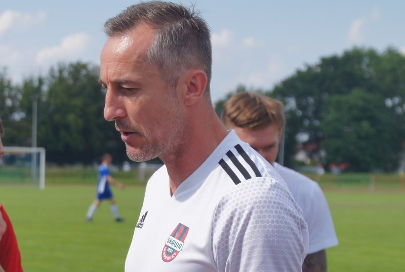 Maciej Żak, trener Skawy Wadowice.