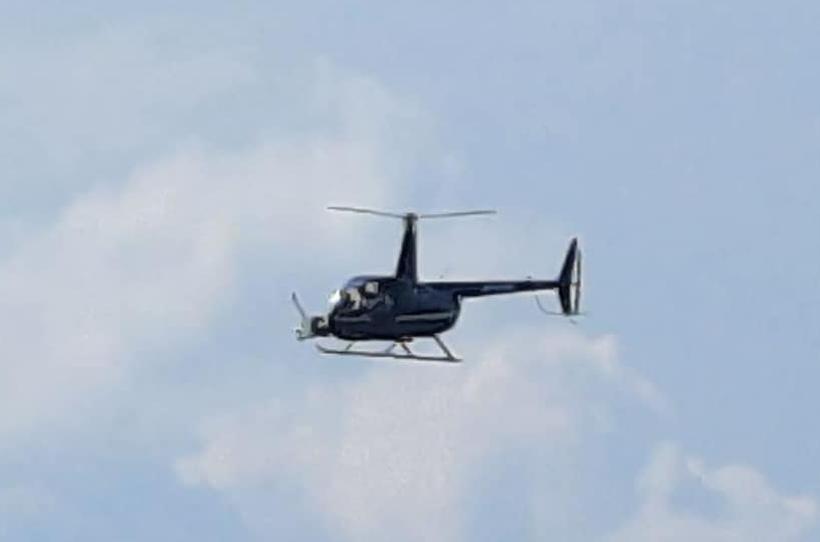 Helikopter latał naprawdę blisko zabudowań. Wójt Stryszowa wyjaśnia, o co chodziło