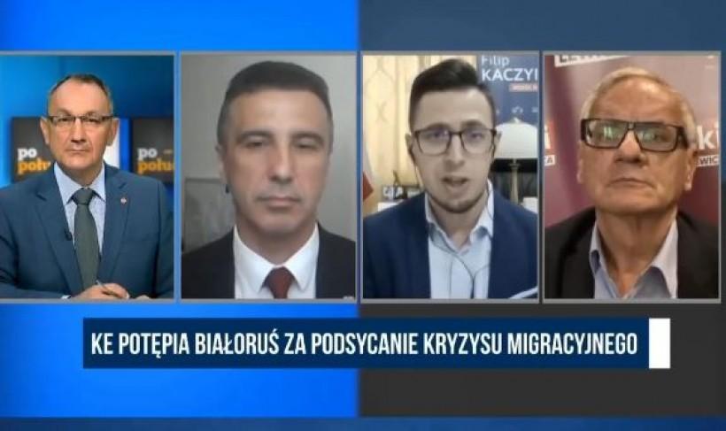 """Poseł Kaczyński apeluje o opamiętanie: """"Wyobrażacie sobie, co się stanie, gdy poseł Jachira przedostanie się przez granicę?"""""""