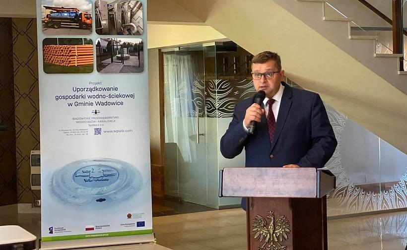 Jerzy Obstarczyk, prezes WPWiK, poinformował o zakończeniu dużej inwestycji za 33 mln zł.