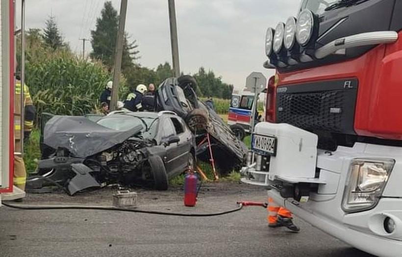 Okropny wypadek w Gierałtowicach. Skrzyżowanie Wadowickiej i Zatorskiej to czarny punkt?