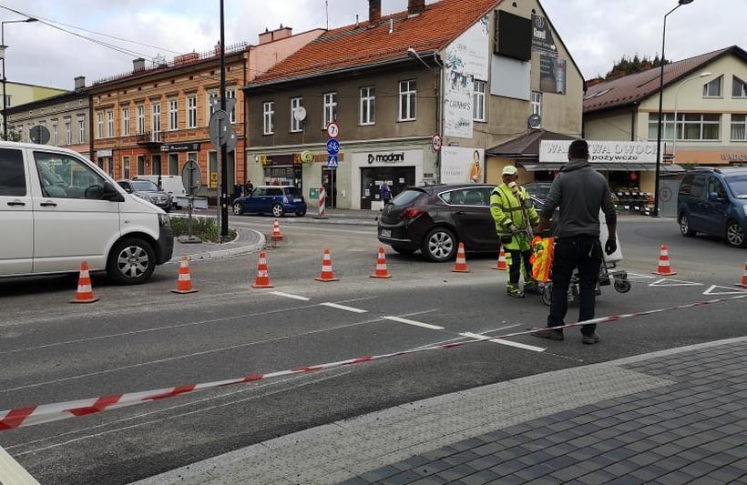 """Lwowska w Wadowicach oznakowana. Teraz nie będzie wymówek, że to """" nie ścieżka"""""""