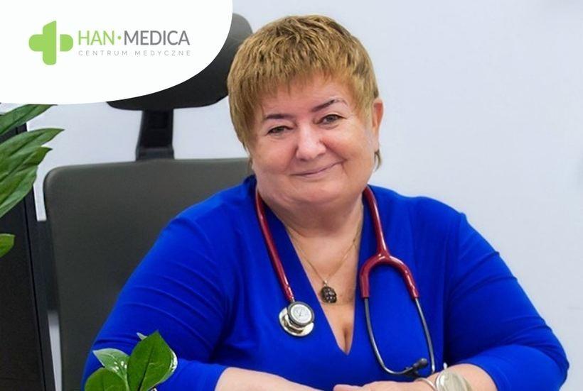 Specjalista chorób wewnętrznych, nefrolog w Centrum Medycznym Han-Medica