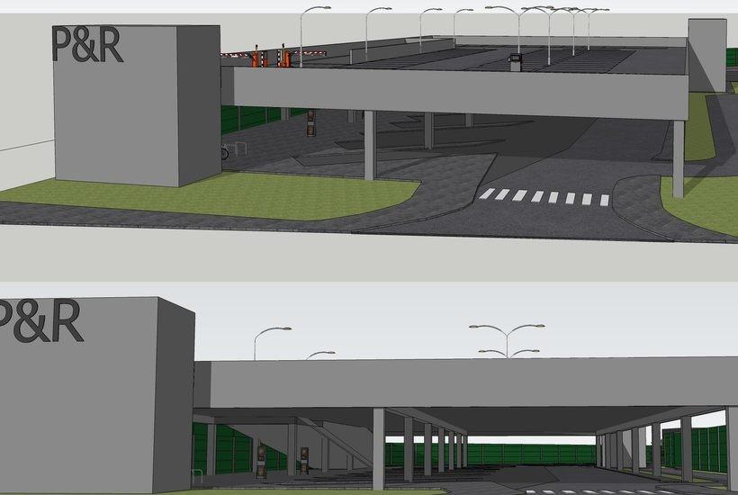 Dwupoziomowy parking i duże zaplecze. Tak będzie wyglądał nowy dworzec autobusowy