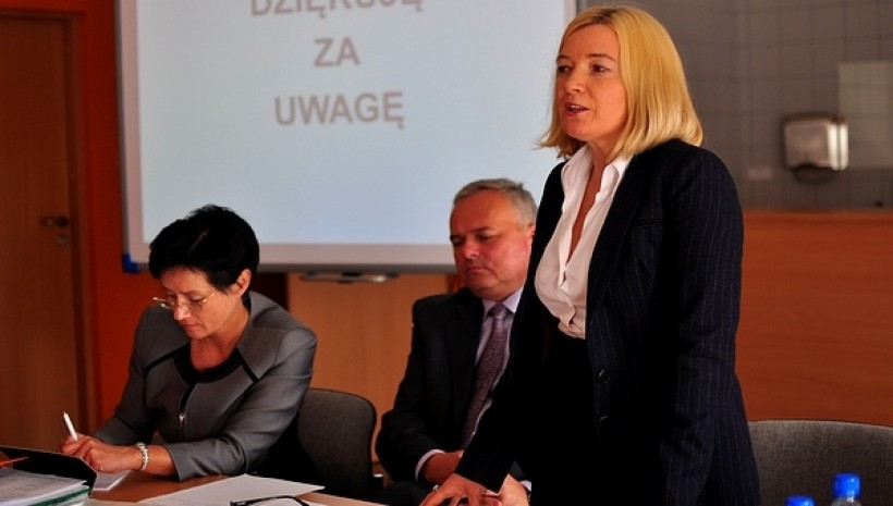 Urszula Lasa została powołana na stanowisko dyrektorki szpitala przez poprzedniego starostę Jacka Jończyka w 2011 roku