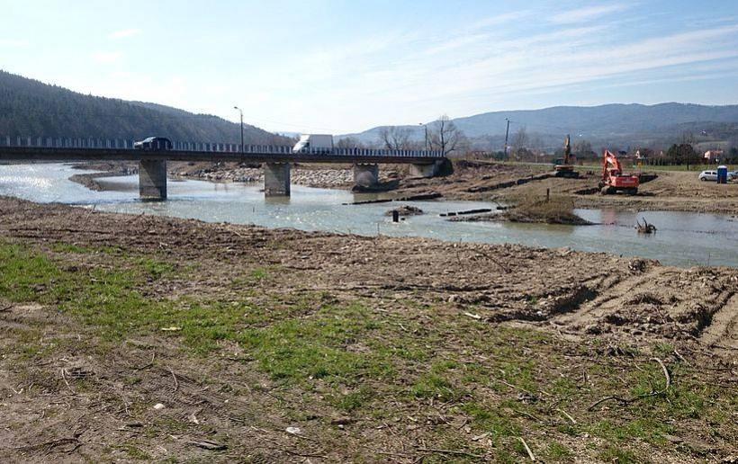 Krajobraz jak po wojnie, ale na Skawie w Jaroszowicach ma być bezpieczniej