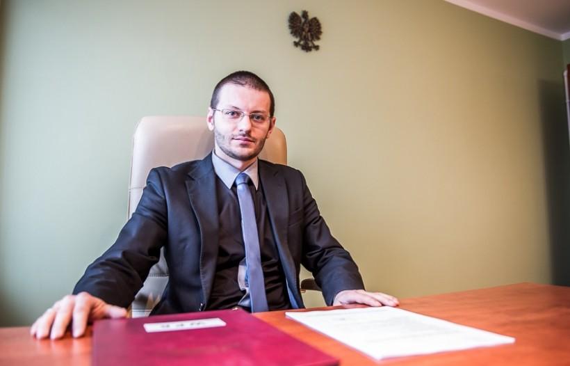 Bartosz Kaliński, starosta wadowcki