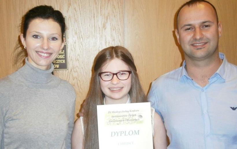 Zuzanna Zajda wróciła z Radomia z pierwszą nagrodą w ogólnopolskim konkursie
