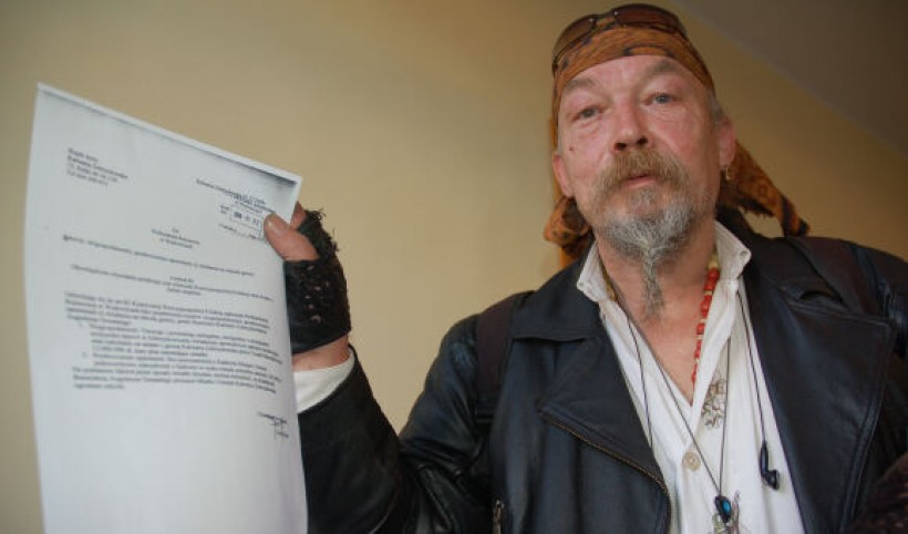Jerzy Rojek z Kalwarii postanowił walczyć o czyste powietrze w gminie